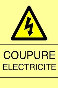 07 Décembre coupure d'électricité