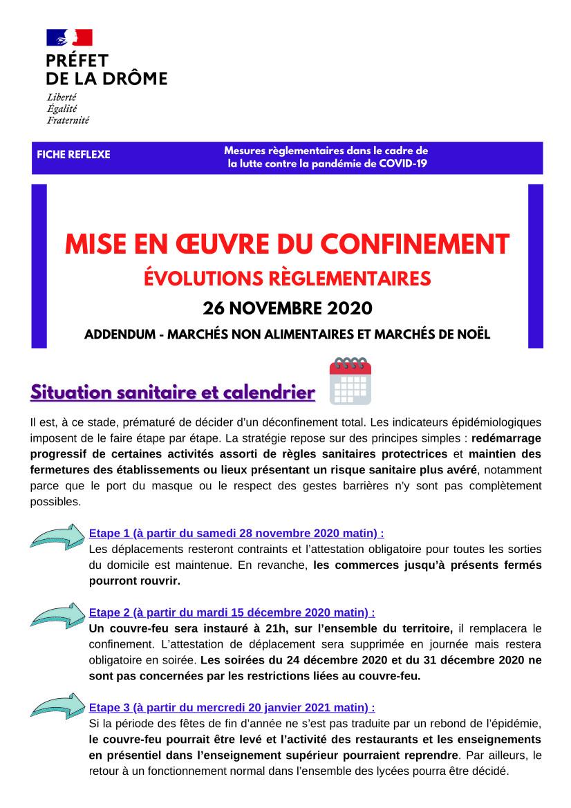 Fiche réflexe du 27/11 Préfecture de la Drôme