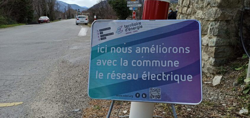 Infos «Traversée du village»