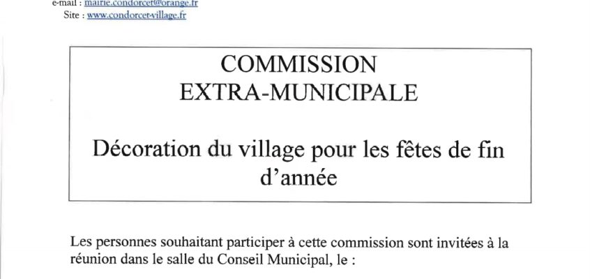 Commission extra-municipale